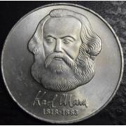 20 марок 1983 год. Карл Маркс