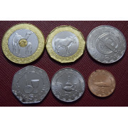 Набор монет  Мавритания 2017-2018 г.г