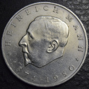 20 марок 1971 год. 100 летия рождения Генриха Манна
