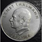 20 марок 1971 год . Эрнст Тельман