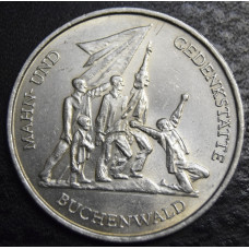 10 марок 1972 год . Бухенвальд
