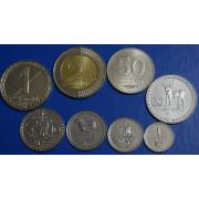 Набор монет Грузии 1993 -2006 г.г