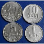 Набор монет  Молдова 2017 год