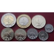Набор монет  Туркменистан 2009-2010 г.г