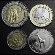 Набор монет Кения 2018 год