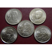 Набор монет  Сербия 2006-2012 г.г
