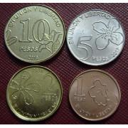 Набор монет Аргентина 2017-2018 г.г
