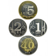 Набор монет  Молдова 2018 год