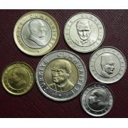 Набор монет  Турция 2005 год