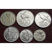 Набор монет  Индонезия