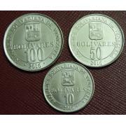 Набор монет  Венесуэла 2016 год