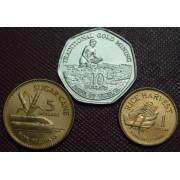 Набор монет  Гайана 1996 год