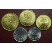 Набор монет Коста-Рика