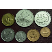 Набор монет  Фиджи
