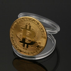 монетовидный жетон Биткоин