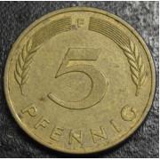 5 пфеннигов 1980 год Германия