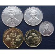 Набор монет  Гаити 1995-2011 г.г