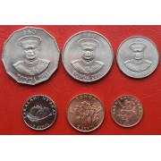 Набор монет  Тонга 1981-2011г.г