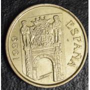 5 песет 1999  год  Испания