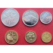 Набор монет  Сейшельские острова
