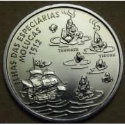 200 эскудо 1995 год . Путешествие на Молуккские острова в 1512 году