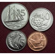 Набор монет  Каймановы острова 2008 год