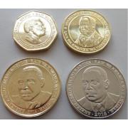 Набор монет  Танзания 2014 - 2015 г.г