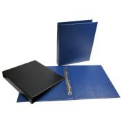Альбом , вертикальный  230х270 мм ,формат Оптима (синий)