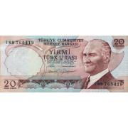 20 лир 1974 год . Турция