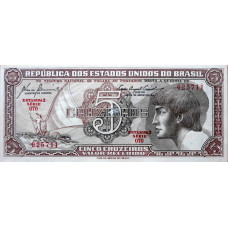 5 крузейро 1961 год .Бразилия