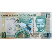 10 даласи 2006-12 год . Гамбия