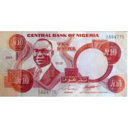 10 найра 2001 год. Нигерия