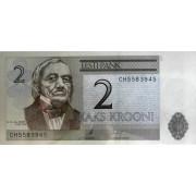 2 кроны 2007 год . Эстония
