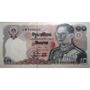 10 бат 1980 год .  Тайланд