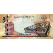 1/2 динар 2006 год . Бахрейн