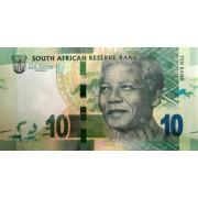 10 рандов 2012 год.  ЮАР
