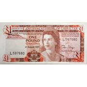 1 фунт 1988 год . Гибралтар