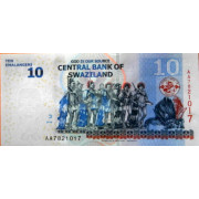 10 эмалангени 2010 год . Свазиленд