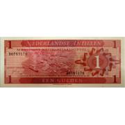 1 гульден 1970 год.Нидерландские Антильские Острова