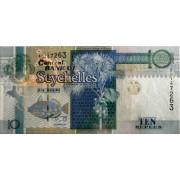 10 рупий 1998-2010 год . Сейшельские острова