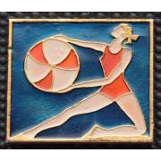 Значок  - Художественная гимнастика