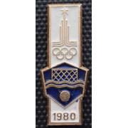 Значок  - Олимпиада 1980, водное поло