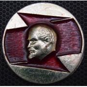 Значок В. И. Ленин