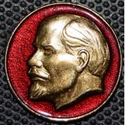Значок Ленин